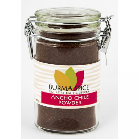Gourmet Ancho Chili Powder | Burma Spice