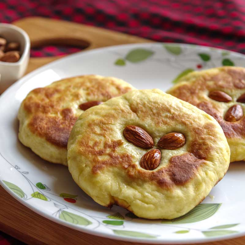 Hotteok (Sweet Korean Pancakes)