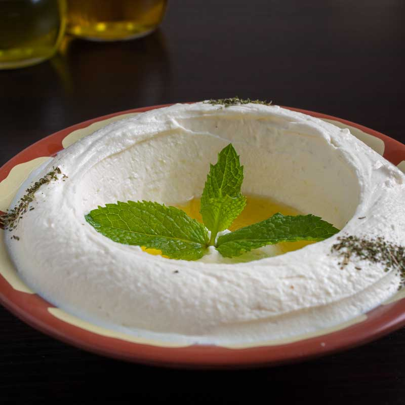 Labneh (Lebanese Strained Yogurt)