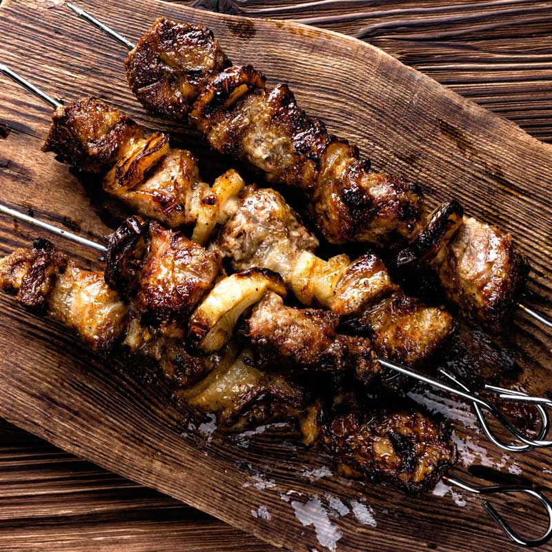 Aleppo Chicken Kebabs
