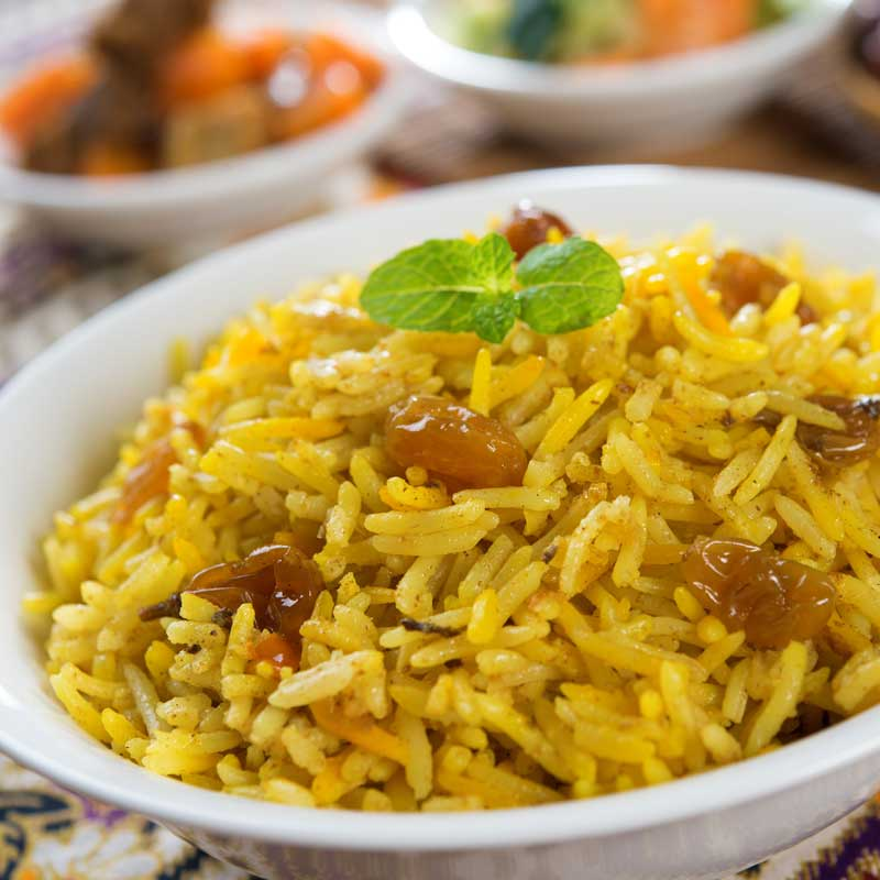 Pakistani Biryani Rice