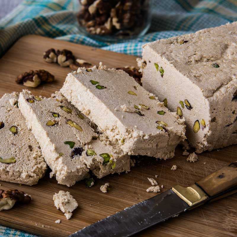 Halawa (Egyptian Tahini Fudge)