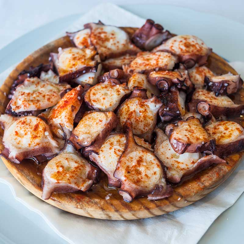 Pulpo a la Gallega (Galician Octopus)