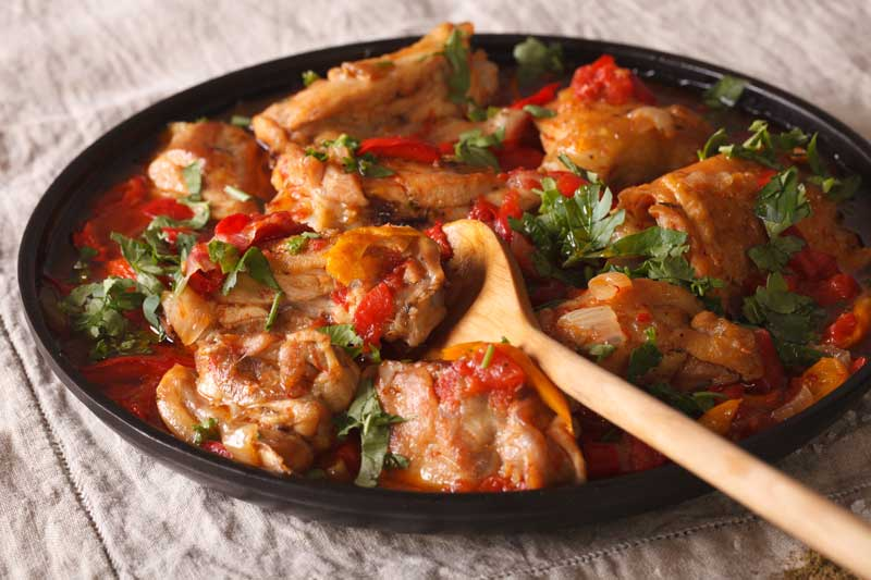 Pollo al Chilindron (Spanish Chicken Stew)