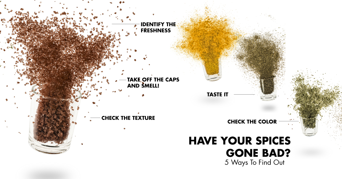 Have your spices gone bad? 5 ways to find out