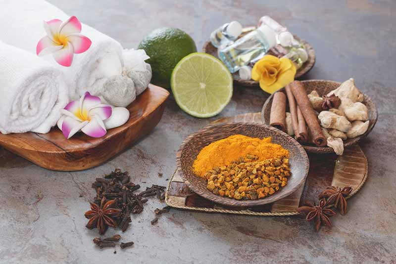 Spices for homemade face masks - Burma Spice