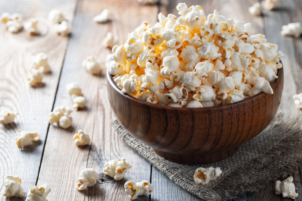 Garlic Pepper Stovetop Popcorn
