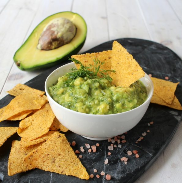 Guacamole with Burma Spice Lemon Dill seasoning Blend