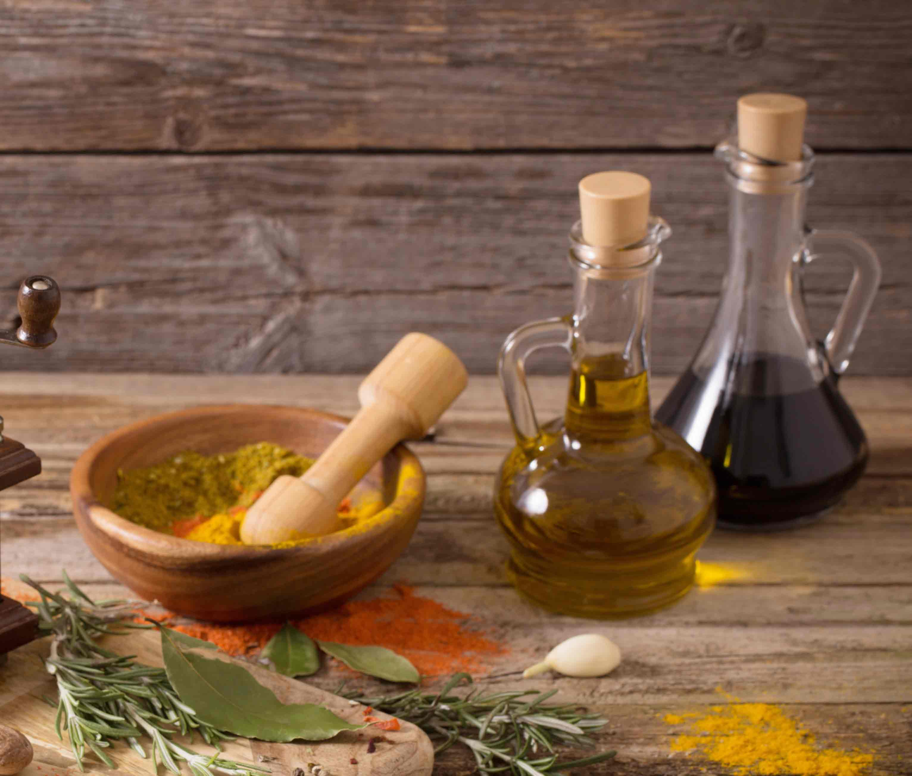 Homemade Curry oil