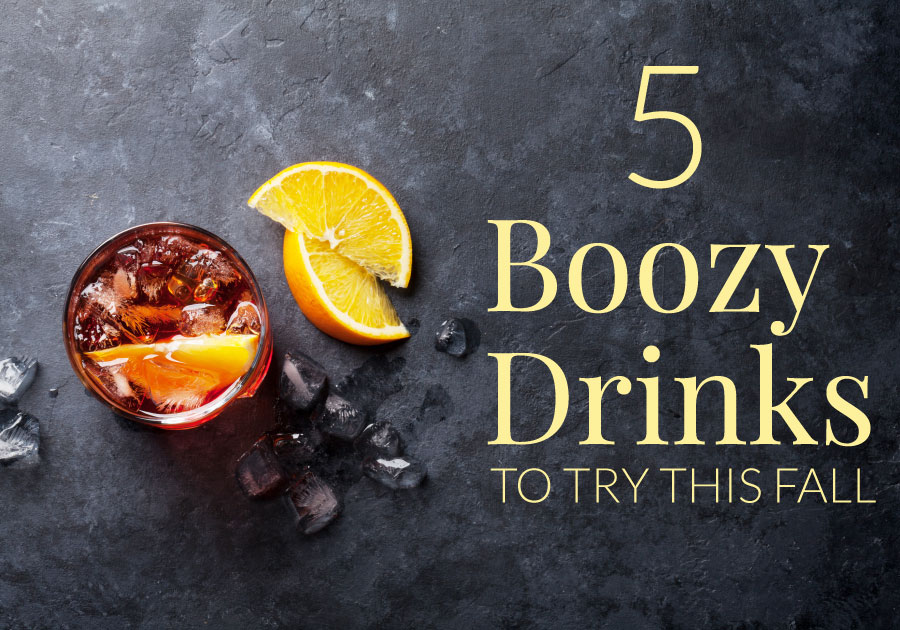 5 Boozy Drinks to Stay Warm This Fall
